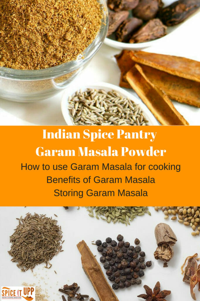 What is garam Masala powder pinterest image