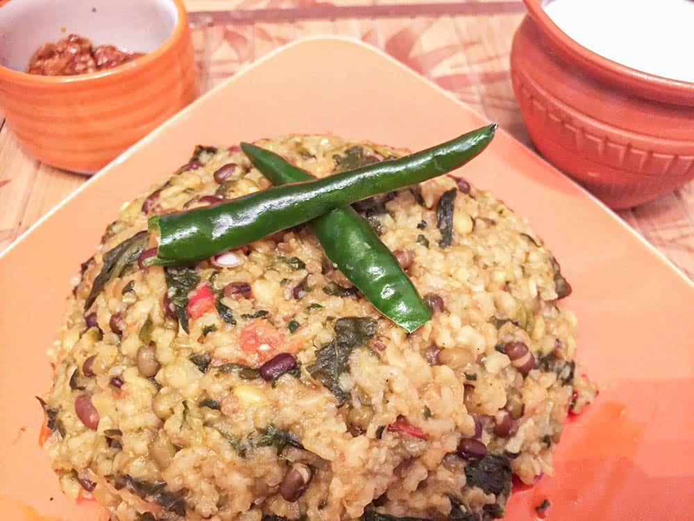 Vegetable pulao recipe with raita