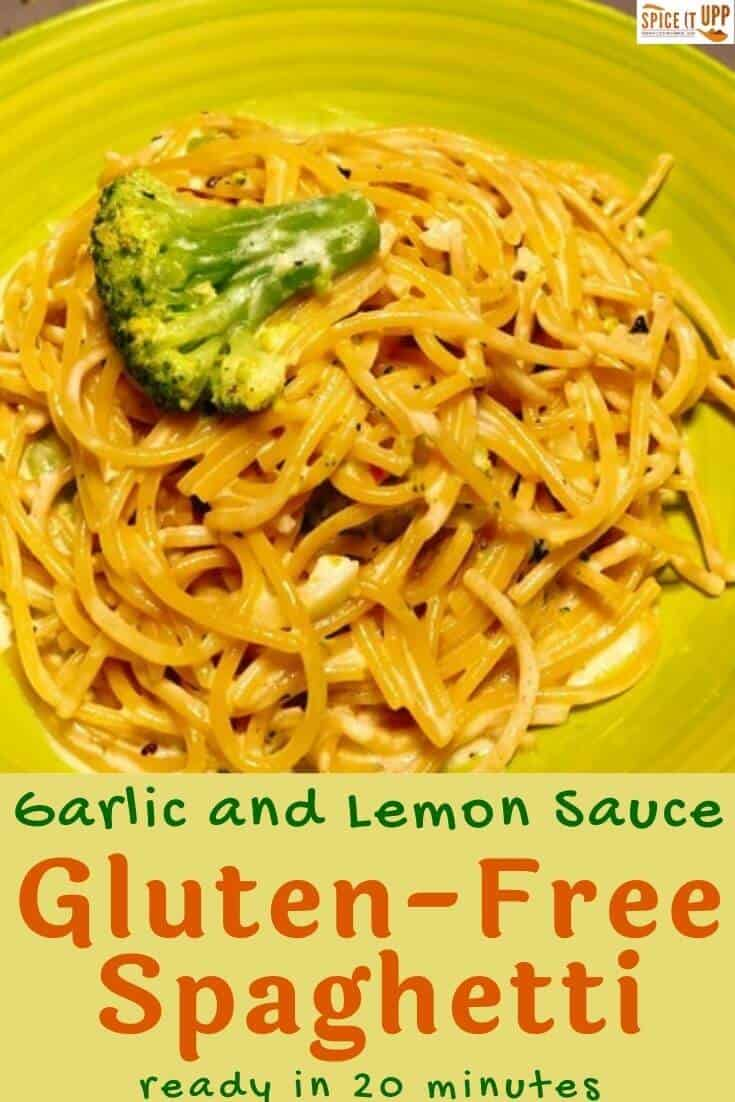 Easy Spaghetti recipe in garlic sauce