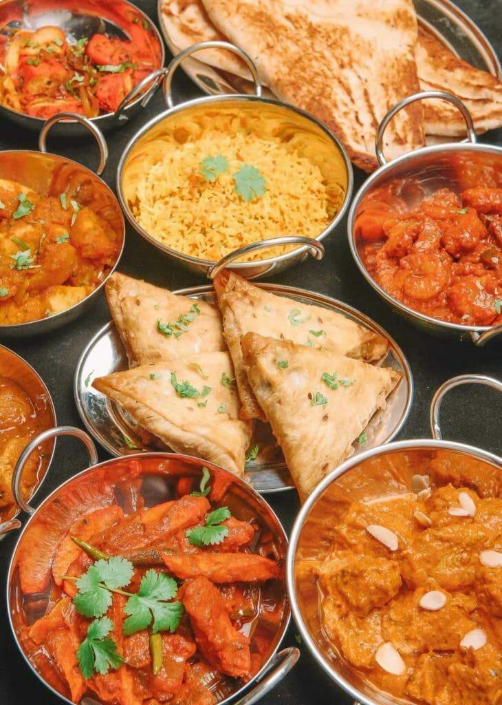 Restaurant Indian food