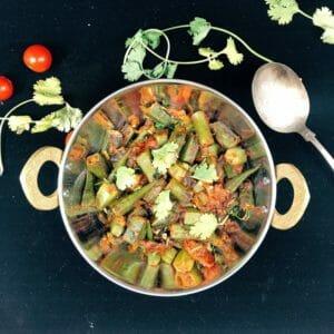 Masala Bhindi (Spicy Okra)